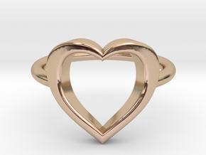 Heart in 14k Rose Gold