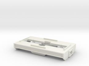 On18 frame (Bachmann GE44) in White Natural Versatile Plastic