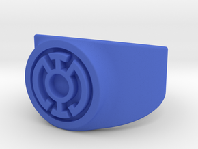 Blue Hope GL Ring (Szs 5-15) in Blue Processed Versatile Plastic