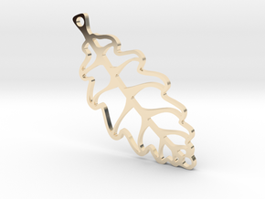 LEAF in 14K Yellow Gold