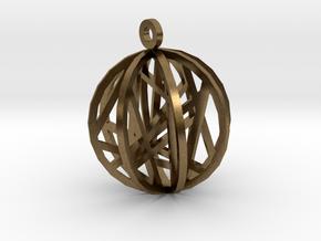 """""""CrossWise"""" in Natural Bronze"""