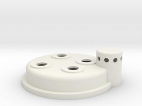 Cyclotron in White Strong & Flexible