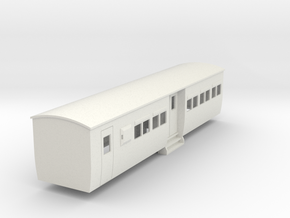 009 colonial modern commuter brake coach in White Natural Versatile Plastic