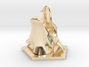 Dragon in 14K Yellow Gold