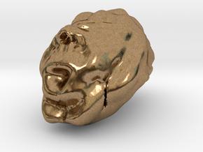 Sculptris Brain in Natural Brass