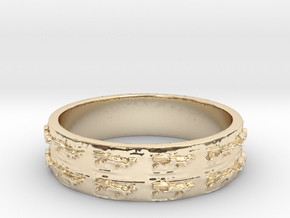 The Kris Ring Size 7 in 14K Yellow Gold