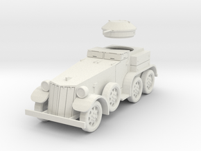 PV39A T4 (M1) Armored Car (28mm) in White Natural Versatile Plastic