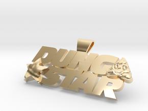 DungStar 100mm Wide in 14K Gold