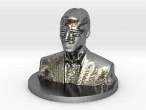 Michael BIG WRL in Polished Silver