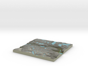 Terrafab generated model Fri Aug 29 2014 02:23:36  in Full Color Sandstone