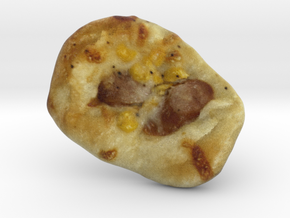 The Pizza Bun in Full Color Sandstone