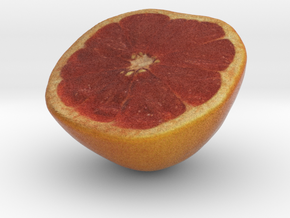 The Grapefruit-Half in Full Color Sandstone