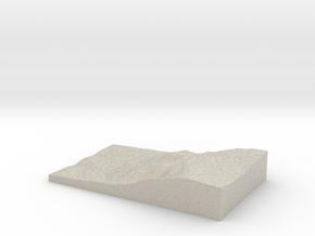 Model of Talgarth in Natural Sandstone