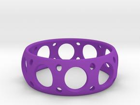 Peripheral in Purple Processed Versatile Plastic