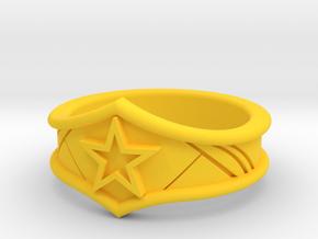 WW Tiara Ring Sz 5 in Yellow Strong & Flexible Polished