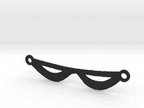 The Phantom's Eye Mask in Black Acrylic
