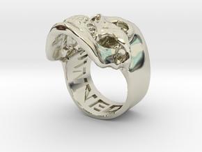 =Epic= Skull Ring - Size 12 in 14k White Gold