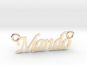 Mando in 14K Yellow Gold