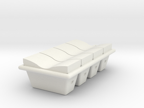 Casse Nexo Assieme in White Natural Versatile Plastic