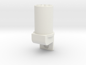 Landing Strut Insert V2 in White Strong & Flexible