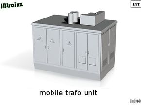 Mobile Trafo (1:160) in White Processed Versatile Plastic