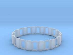 O Ring 3 in Smooth Fine Detail Plastic