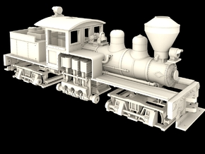 Nn3 Scale Class B Shay in Frosted Ultra Detail