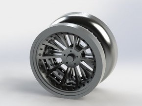 Offroad YoYo in Polished Metallic Plastic