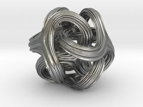Trilio Railz - 21mm in Natural Silver