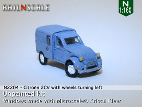 Citroën 250 - parked (N 1:160) in Smooth Fine Detail Plastic