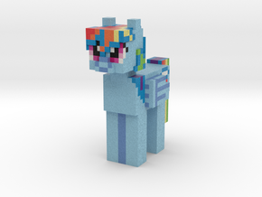 Rainbow Dash in Full Color Sandstone