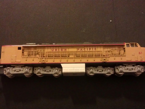 GE Gas Turbine Battery Box x2 - (N Scale) 1:160 in Frosted Ultra Detail