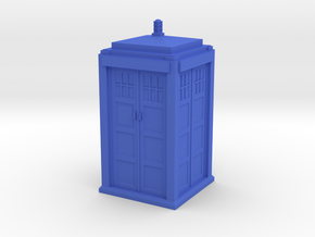 Tardis Model in Blue Processed Versatile Plastic