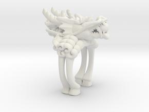 Legend of KIRIN in White Natural Versatile Plastic