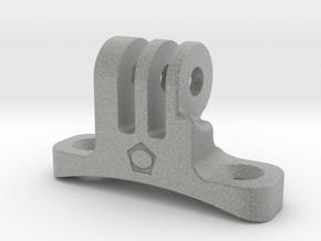 Go-pro-Helmount in Metallic Plastic