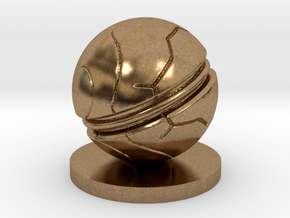 Slaughterball ball in Natural Brass