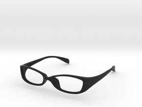 Eyewear in Black Natural Versatile Plastic