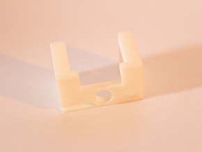 Warbotron WB01-C Canon Shoulder Clip Detailed Thic in White Natural Versatile Plastic