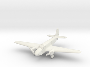 Caproni Ca.309 Ghibli 6mm 1/285 in White Natural Versatile Plastic