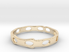 Lights (Size 8) in 14K Yellow Gold