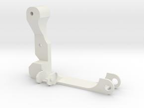 Eje X Acople Cadeneta Izquierda in White Natural Versatile Plastic