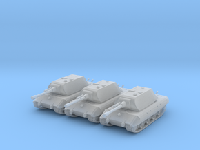 6mm E-100 tank x3 in Frosted Ultra Detail