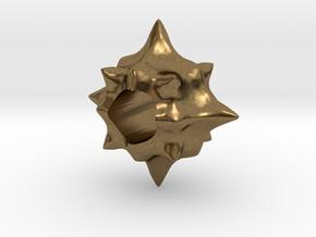 Pollen European Charm Bracelet Bead in Natural Bronze