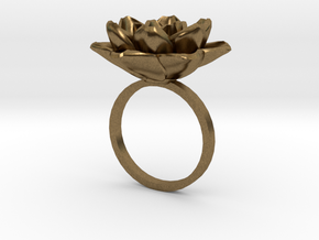 Rose Ring 17.3mm in Natural Bronze: 5 / 49