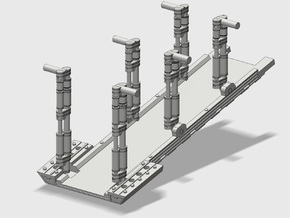 YT1300 FM 1/72 RAMP SET in Smooth Fine Detail Plastic