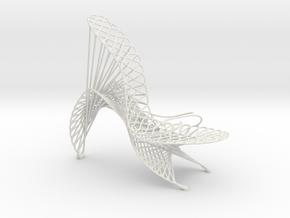 Marla Marchant #3DPS in White Natural Versatile Plastic