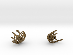 Bracelet (pieces 2 and 3) in Natural Bronze