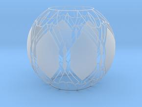 Lampshade (Designer Sphere1) in Smooth Fine Detail Plastic