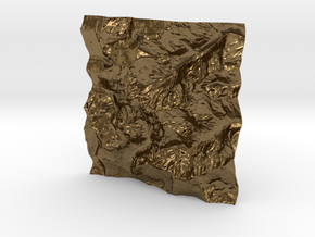 3'' Picket Range, Washington, USA in Natural Bronze