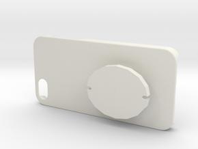 IPhone Case+EarphoneReel in White Natural Versatile Plastic
